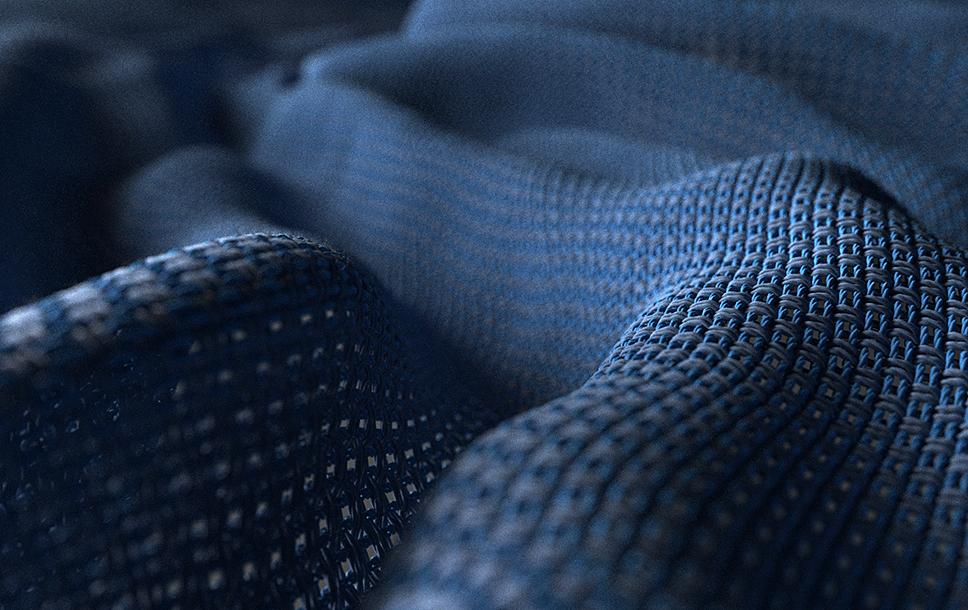 RealCloth 2.0 - tkanina - detail vláken