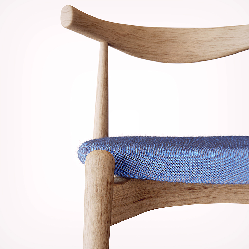 RealCloth 2.0 v praxi - sedák židle